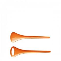 Koziol Rio zestaw łyżek do sałaty, kolor pomarańczowy
