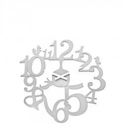 Koziol Pi:P zegar ścienny, kolor biały