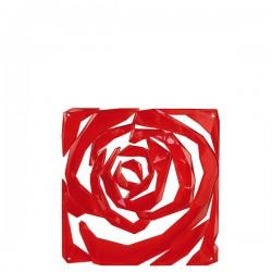 Romance element dekoracyjny, kolor czerwony