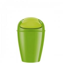 Del M kosz na śmieci, kolor limonkowy