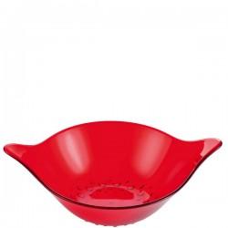Koziol Leaf misa do sałatek, kolor czerwony