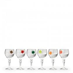 Leaf My Glass Znaczniki na szklanki