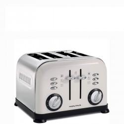 Morphy Richards White 4 Slice toster elektryczny na 4 tosty