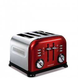 Morphy Richards Toster Accents Red Toster na 4 tosty