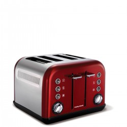 Morphy Richards Toster Accents Red New Toster na 4 tosty