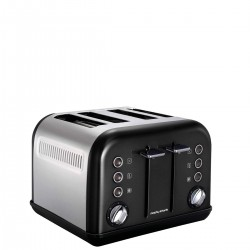Morphy Richards Toster Accents black Toster na 4 tosty