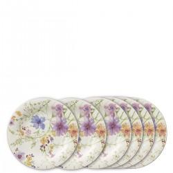 Villeroy & Boch Mariefleur zestaw talerzy śniadaniowych, 6 sztuk