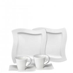 Villeroy & Boch New Wave zestaw kawowy, 18 elementów
