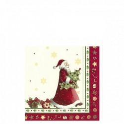 Villeroy & Boch Winter Specials Bakery Napkin St.Claus serwetki świąteczne