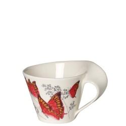 Villeroy & Boch New Wave Caffe Noble leafwing filiżanka do białej kawy