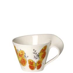 Villeroy & Boch New Wave Caffe Orange washed sulphur filiżanka do białej kawy