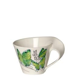 Villeroy & Boch New Wave Caffe Deep green hairstreak filiżanka do białej kawy