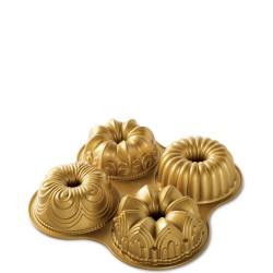 Nordic Ware QUARTET GOLD forma do babek