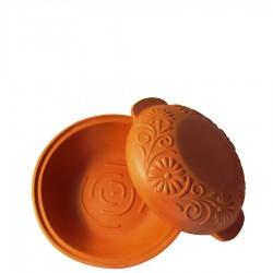 Garnek rzymski okrągły