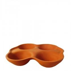 Gliniana forma do pieczenia jajek, bułek i owoców
