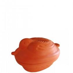Garnek rzymski do pieczenia kaczki