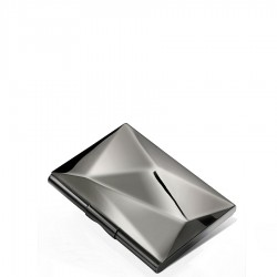 Wizytownik metaliczny srebrny