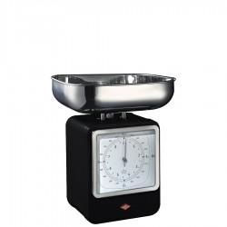 Wesco Retro waga kuchenna z zegarem