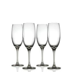 Alessi Miami XL Zestaw 4 kieliszków do szampana