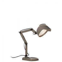Duii lampa stołowa, kolor szary