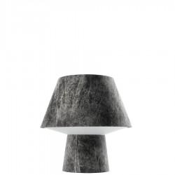 Diesel Foscarini Soft Power Grande lampa stołowa, kolor czarny
