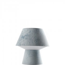 Diesel Foscarini Soft Power Grande lampa stołowa, kolor niebieski