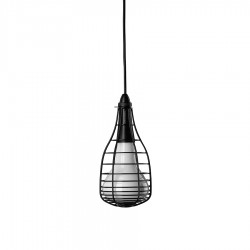 Cage Mic  lampa wisząca, kolor czarny