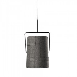 Diesel Foscarini Fork piccola lampa wisząca, kolor szary