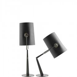 Fork lampa stołowa, kolor szary