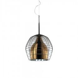 Diesel Foscarini Cage lampa wisząca, kolor brązowy