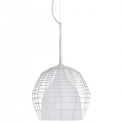 Diesel Foscarini Cage lampa wisząca, kolor biały