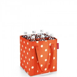Reisenthel Bottlebag torba na butelki, carrot dots