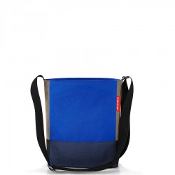 Reisenthel Shoulderbag S torba, patchwork royal blue