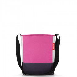 Reisenthel Shoulderbag S torba, patchwork magenta