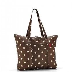 Reisenthel Mini maxi travelshopper torba na zakupy, mocha dots