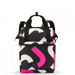 Reisenthel Allrounder R Plecak, signature bold pink