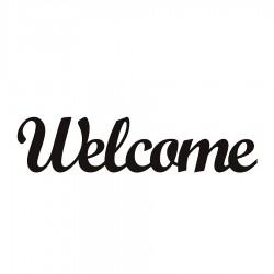 Welcome Napis dekoracyjny