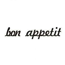 Bon appetit Napis dekoracyjny