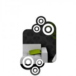 DekoSign Wheels lustro dekoracyjne