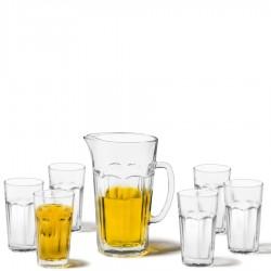 Leonardo Rock dzbanek do soku z 6 szklankami