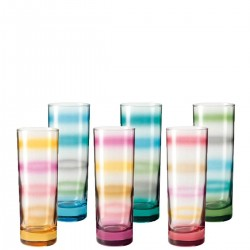 Rainbow zestaw szklanek
