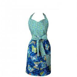 Mavia Rania Motyle i szafiry Apronessa jak sukienka