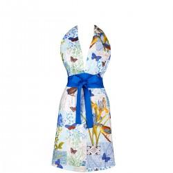 Mavia Tamar Ptaki pocztowe Apronessa jak sukienka, dwustronna