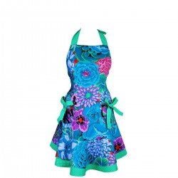 Lalla Salama Kobalt Apronessa jak sukienka