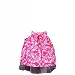 Mavia Mała księżniczka Tiul i różowy ornament apronessa dla dziewczynek