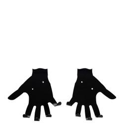Dłonie wieszak na ubrania