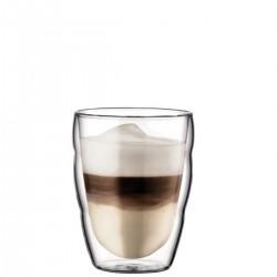 Bodum szklanki dwuwarstwowe, 2szt