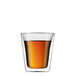 Bodum Canteen szklanki izolowane, 2szt
