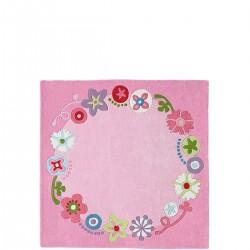 Haba Kwiatowa Korona dywan dziecięcy wełniany