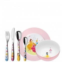 WMF Princess zestaw dla dzieci, 6 el.